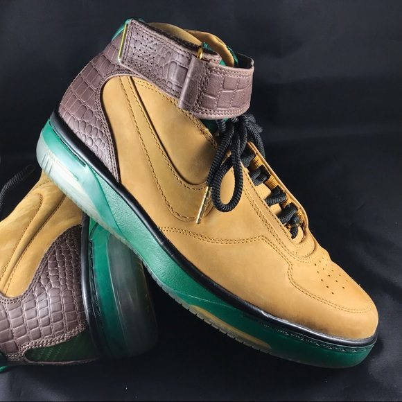 2008 Nike Air Force 25 league pack wheat green 9
